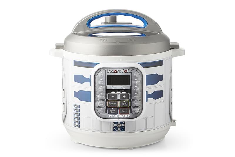 映画『スター・ウォーズ』に登場するキャラクターをテーマにしたクッキングポットが発売 Star Wars Instant Pot Darth Vader R2D2 Chewbacca storm trooper bb-8 drone characters branded williams sonoma galaxy