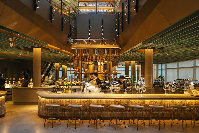 world largest スターバックス スタバ starbucks リザーブロースタリー reserve roastery coffee アメリカ シカゴ コーヒー  chicago cafe shop specialty coffee