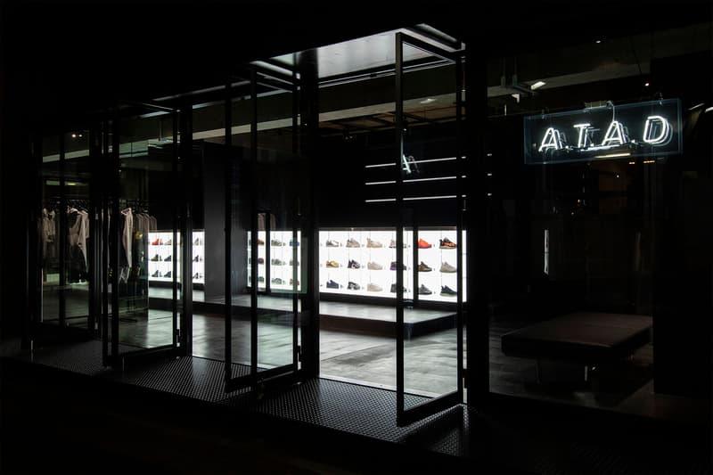 アディダス x アトモス A.T.A.D adidas x atmos によるコンセプトショップ A.T.A.D が原宿に誕生