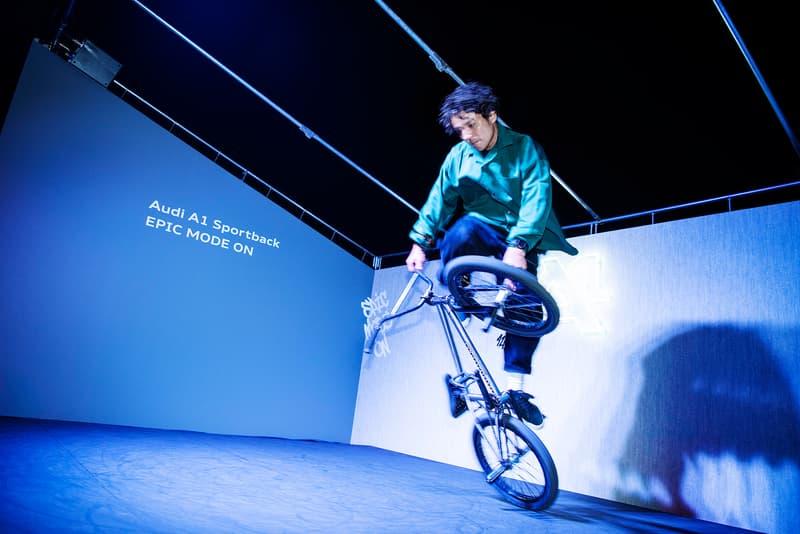注目のスペシャルイベント Audi A1 Sportback EPIC MODE ON produced by HYPEBEAST が遂に開催