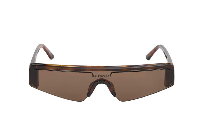 """バレンシアガから""""スキーゴーグル""""をモチーフとしたサングラスが登場 Balenciaga Ski Rectangle Acetate Sunglasses Release goggles eyewear sunglasses"""