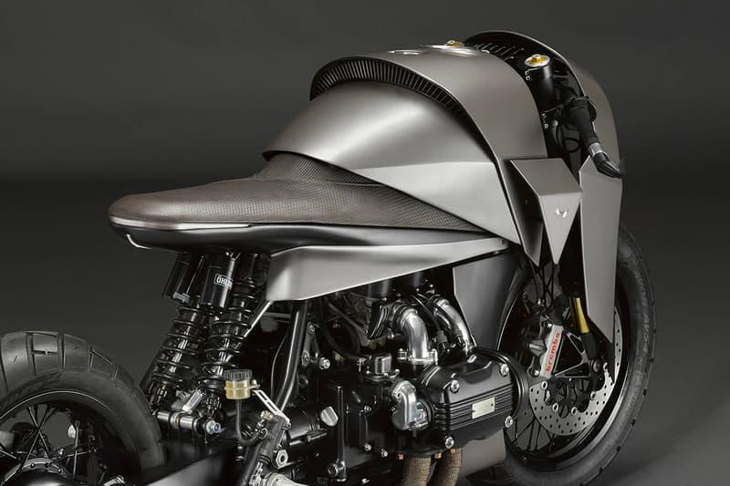 武士の甲冑をモチーフにしたカスタムバイクKENZOがリリース Death Machines of London custom bespoke motorcycles workshop 1000 cc 1977 honda gold wing gl1000 kenzo tada