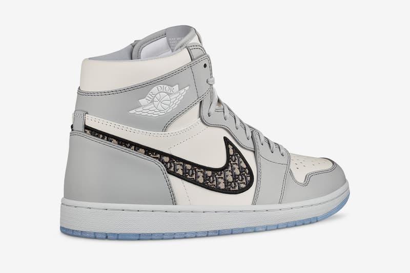 ディオール x エアジョーダン1 High OG にクローズアップ DIOR x Jordan Brand によるコラボ Air Jordan 1 High OG にクローズアップ