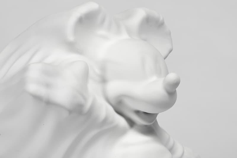 ダニエル・アーシャムの手がけた異色のミッキープロダクトが発売 daniel arsham disney mickey mouse collaborative figures apportfolio exclusive innersect shanghai fair