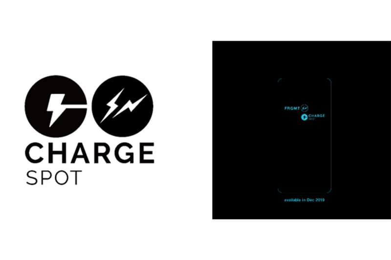 フラグメント fragment design がモバイルバッテリーのシェアリングサービス ChargeSPOT とコラボレーション