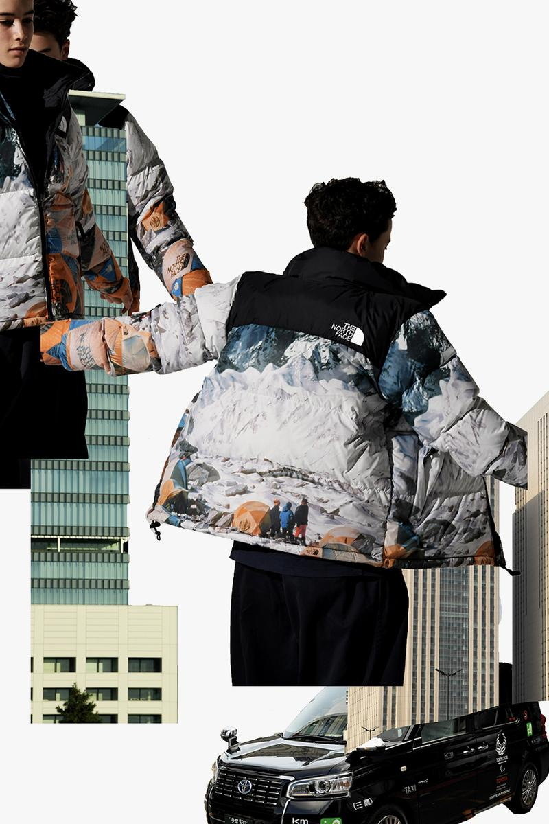INVINCIBLE インヴィンシブル The North Face ノースフェイス 2019 カプセル コレクション Capsule collection fall winter 秋冬 fw19 nuptse jacket denali mountain image 1987 エベレスト  Snowbird Everest Expedition sally mccoy Jimmy Wu taiwan the north face urban exploration