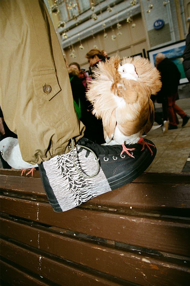 プレジャーズ x ジョイ・ディヴィジョン x コンバースのコラボモデルが発売 Joy Division PLEASURES Converse Chuck 70s Release 424 info Date Buy Los Angeles Black Unknown Pleasures Alex James