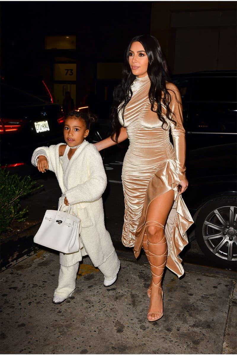 Kim kardashian カニエ・ウェスト Kanye west マイケル・ジャクソン gives her eldest daughter 娘 ノース north northie hermes birkin エルメス バーキンold black jacket michael jackson for christmas クリスマスプレゼント 720万円