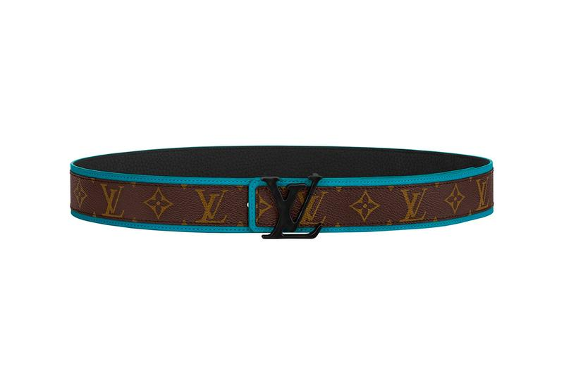 ルイ・ヴィトン Louis Vuitton が最新メンズ・ベルトコレクションを公開 Louis Vuitton Virgil Abloh Designed Belt Collection Release Monogram Eclipse canvas buckle Pouch info Buy