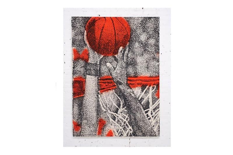 "NBA ""Momentum"" 全米 バスケ アート マイアミ 展示会 エキシビジョン Exhibition Art Basel Miami Beach Nautilus Hotel Leroy Neiman Bradley Ward Eric Elms"