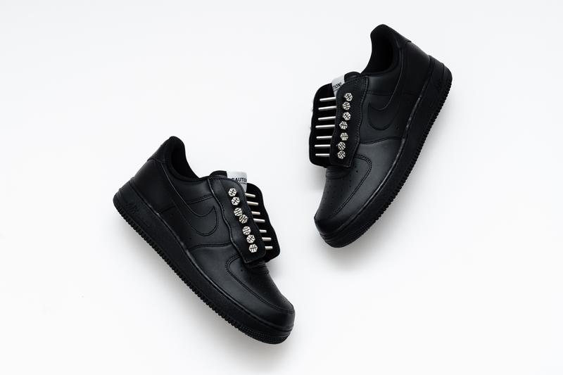 アートコレクティブ New York Sunshine から Air Force 1 のカスタムモデルがリリース unknwn new york sunshine nike air force 1 low black white release date info photos price wynwood miami art basel