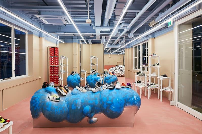 スニーカーズエンスタッフ 注目のスニーカーショップ Sneakersnstuff Tokyo がストア内部を公開