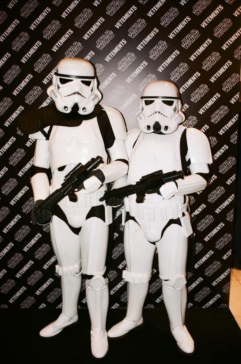 Vetements ヴェトモン スターウォーズ コラボ コレクション Star Wars Collection Launch Event ロシア モスクワ ローンチ Tsum