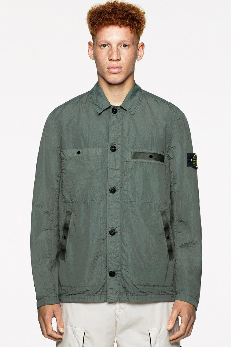"ストーンアイランド Stone Islandが2020年春夏コレクション ""Icon Imagery"" のルックブックを解禁 Stone Island SS20 Icon Imagery Collection Lookbook technical apparel casual sportswear contemporary david-tc camouflage reflective frost nylon metal"
