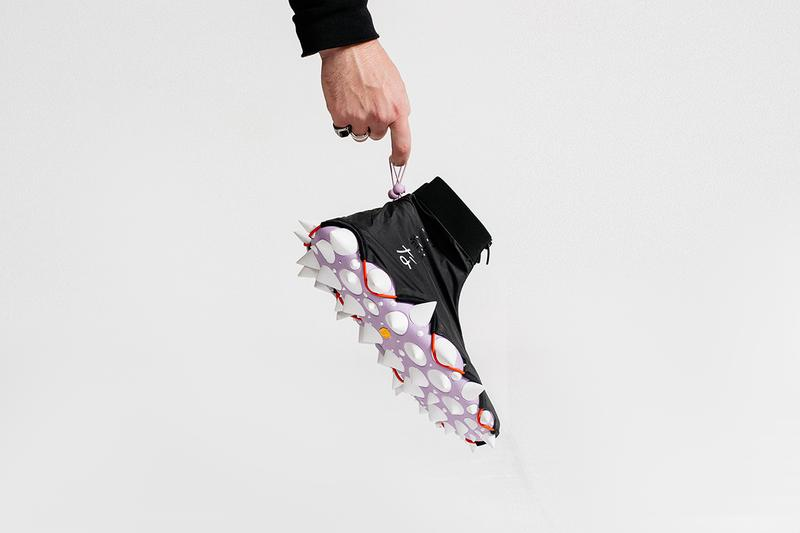 村上隆のアーカイブを再解釈した世界に3足しか存在しないオリジナルスニーカーが公開 Takashi Murakami Wears Mr. Bailey Sneakers First Look Instagram Showcase 'The Simple Things' Sculpture Pharrell Williams Collaboration Art Footwear Vibram