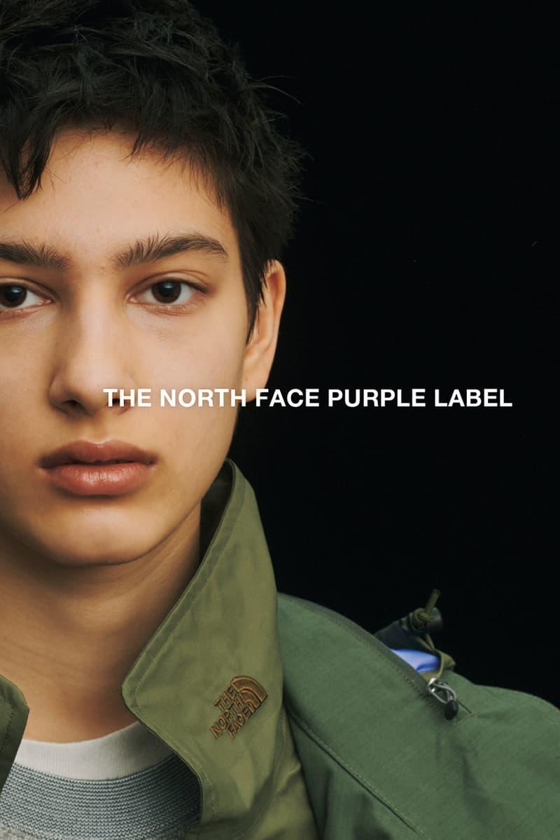 ザ・ノース・フェイス パープル レーベル THE NORTH FACE PURPLE LABEL 2020年春夏シーズンのルックビジュアルが公開