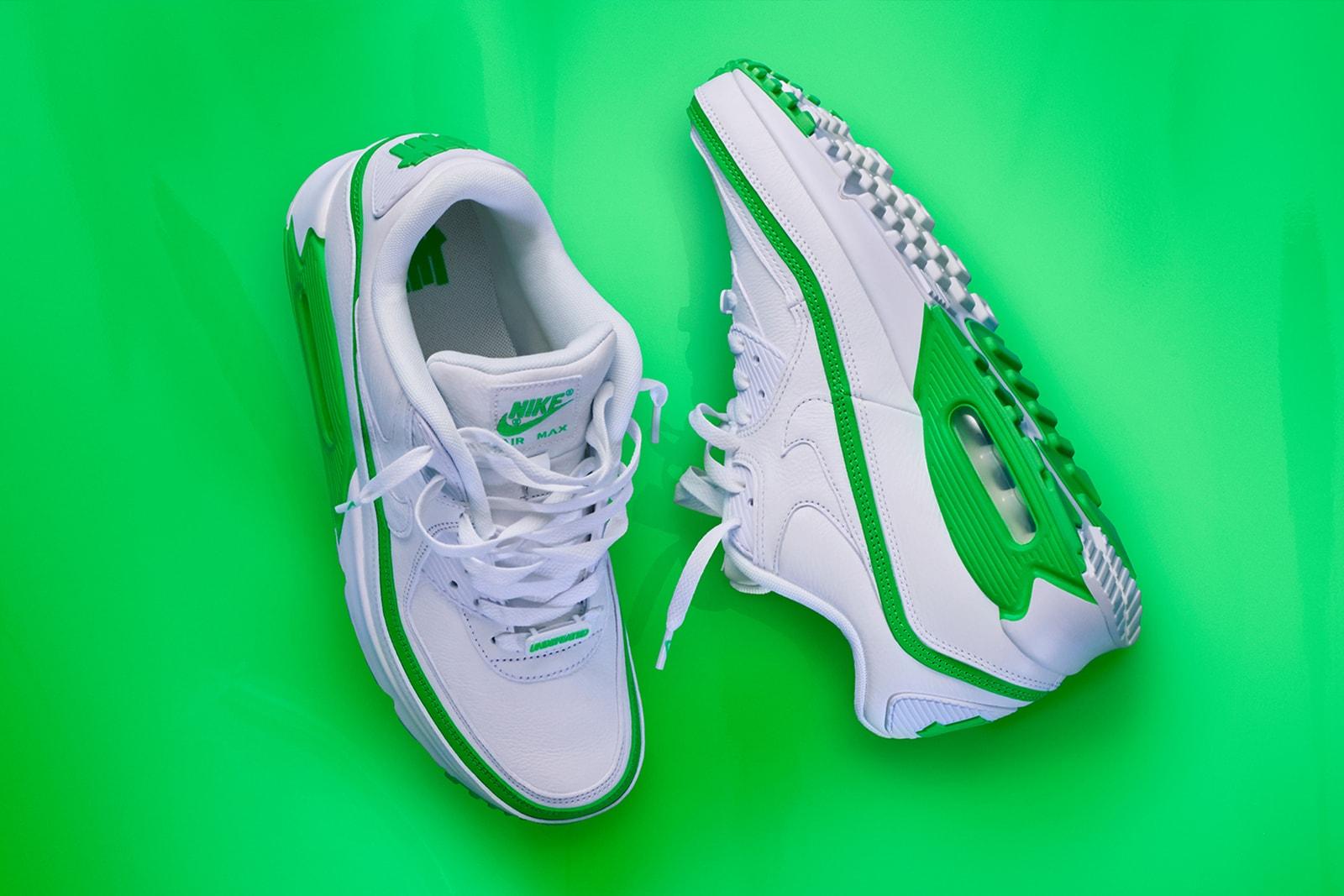 ナイキ x アンディフィーテッド Nike x UNDEFEATED による最新コラボ Air Max 90 の正式発売情報が解禁