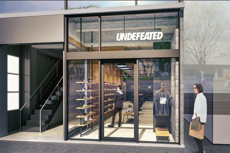 アンディフィーテッド UNDEFEATED が大阪エリア4店舗目をアメリカ村にオープン