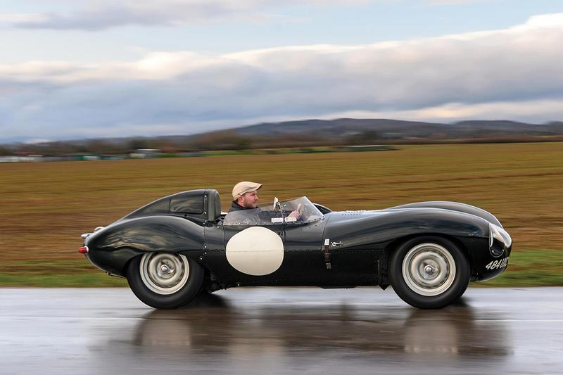 ジャガー Dタイプ 1955年製の Jaguar D-Type がオークションに出品 Rare Original 1955 Jaguar D-Type Auction race car australia local circuits races rm sotheby's paris france