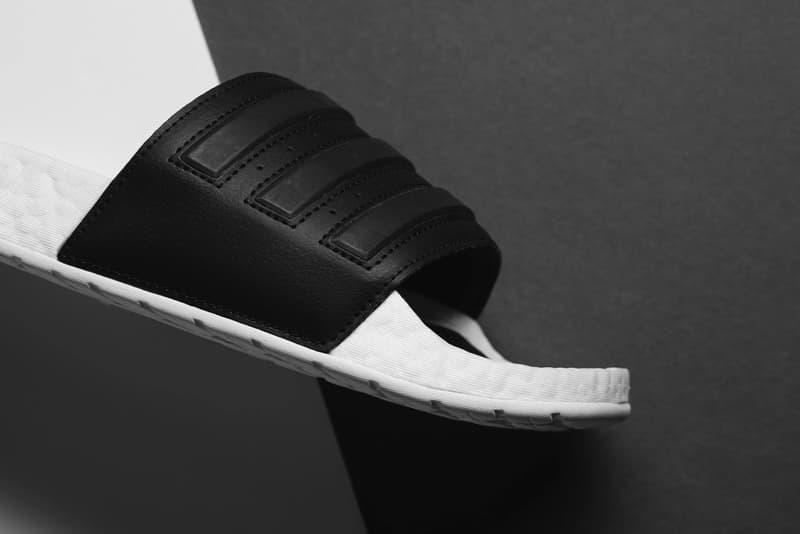 アディダス アディレッタ adidas から BOOSTソールを搭載した新作 Adilette が登場 adidas adilette boost slide sandal cloud white core black EG1910 release date info photos price