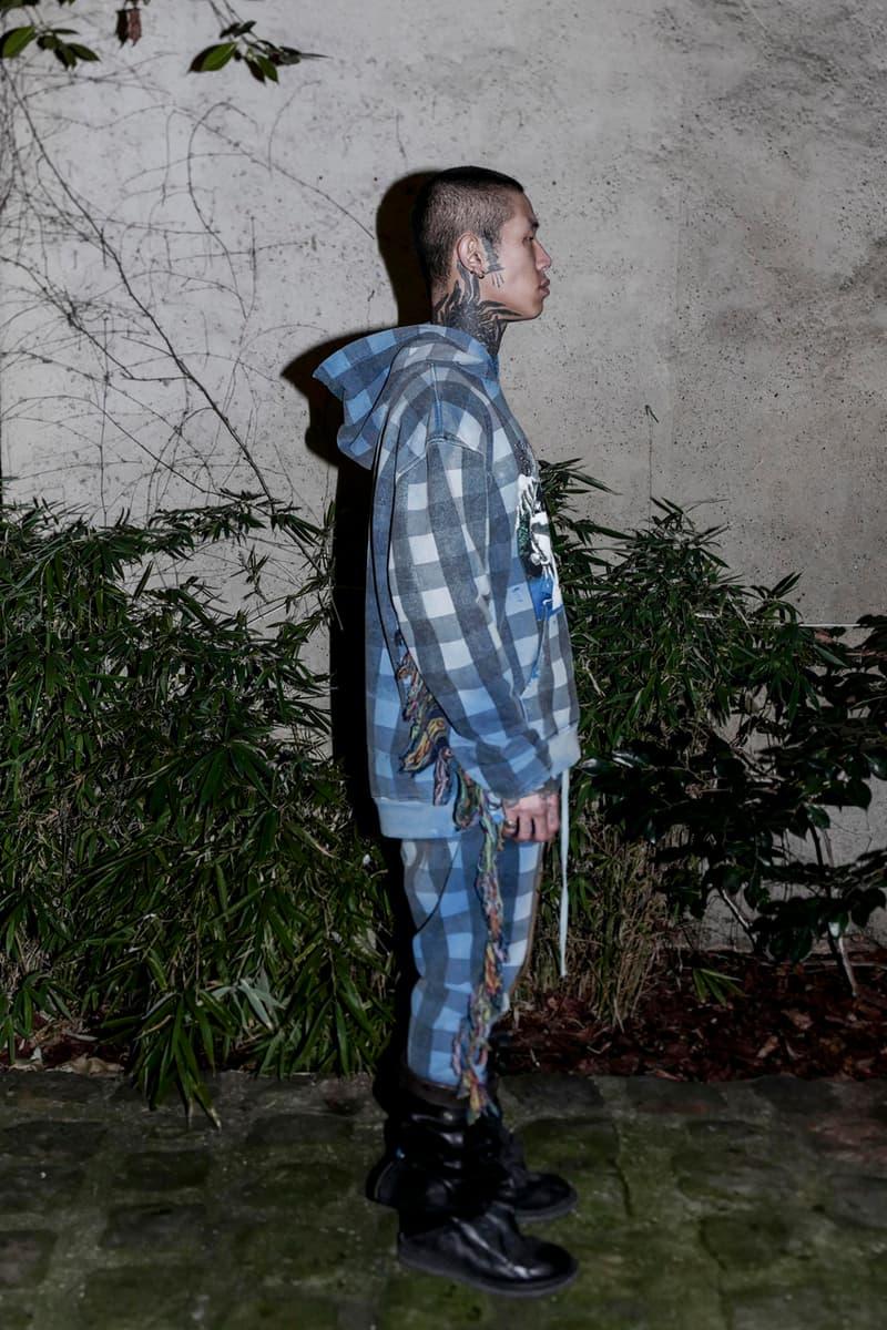 "Alchemist Fall/Winter 2020 ""Chaos"" Collection Hoodies Coats Shirts Pants Sweatpants Plaid Tiger Koi Fish Dragon Skulls Leopard Bomber Jackets Kimono Denim"