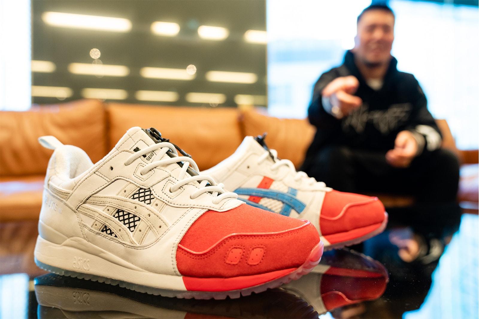 アシックス asics GEL-LYTE III  OG mita sneakers 発売30周年 記念 ミタスニーカーズ コラボモデル 発売