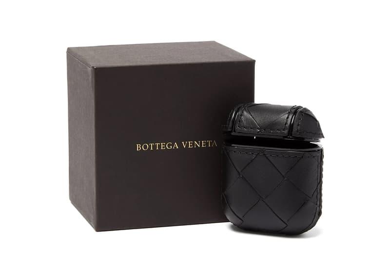 Bottega Veneta からレザーが施されたAirPodsケースが登場 Bottega Veneta  Intrecciato Weave AirPods Case leather Italian fashion headphones BV
