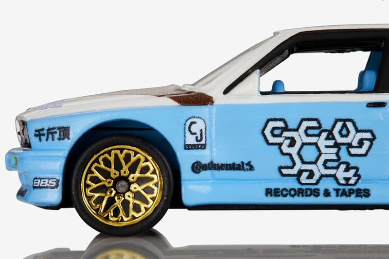 "Cactus Jack × Hot Wheels から、限定ミニカー BMW M3 E30 ""JACKBOYS Edition"" がリリース Cactus Jack Hot Wheels BMW M3 E30 JACKBOYS Edition Giveaway travis scott"