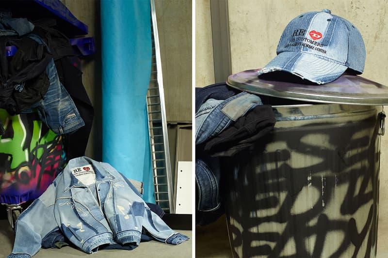ディーゼル レディメイド DIESEL RED TAG が READYMADE とのカプセルコレクションを発表