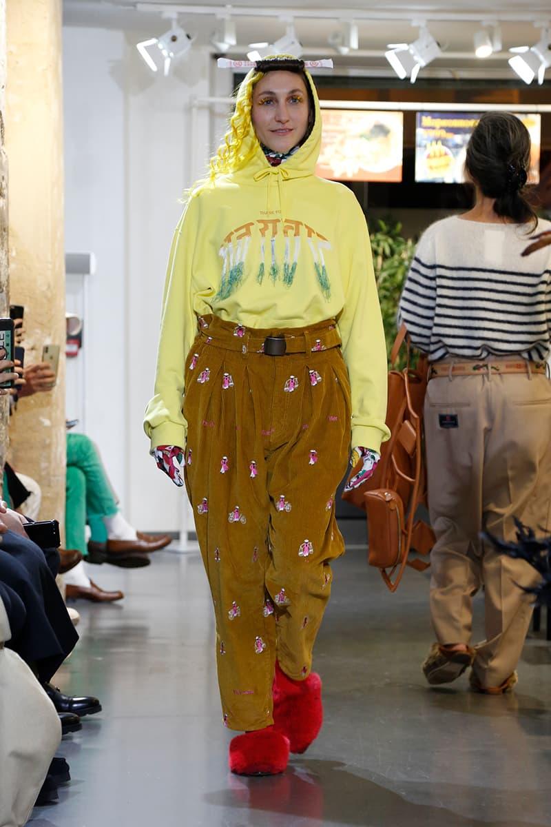 ダブレット 2020年秋冬コレクション DOUBLET Fall Winter 2020 Runway Collection Paris Fashion Week Men's Release Info Date Look image Full Masayuki Ino
