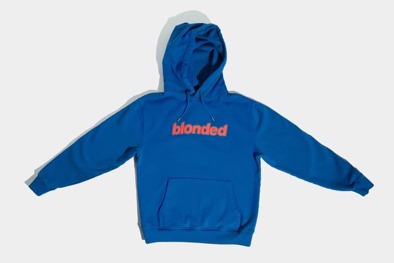 フランク・オーシャン Frank Ocean が 自身のレーベル Blonded 2020年春の新作マーチャンダイズをリリース Frank Ocean Blonded Spring 2020 Apparel Collection Merch Tour Merch In My Room Endless Blond Blonde DHL Prep+