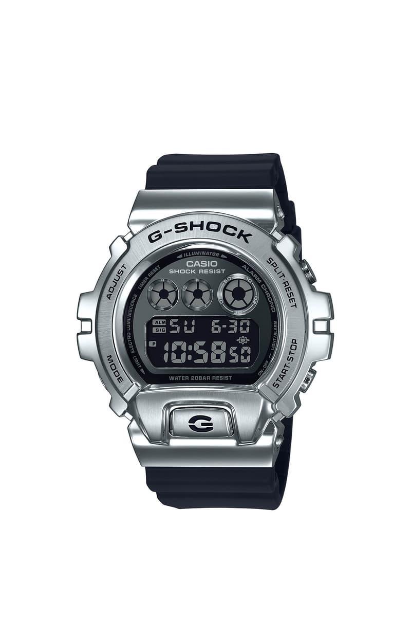 Gショック G-SHOCK から6900シリーズ初のメタルベゼルを採用した新作モデルが発売