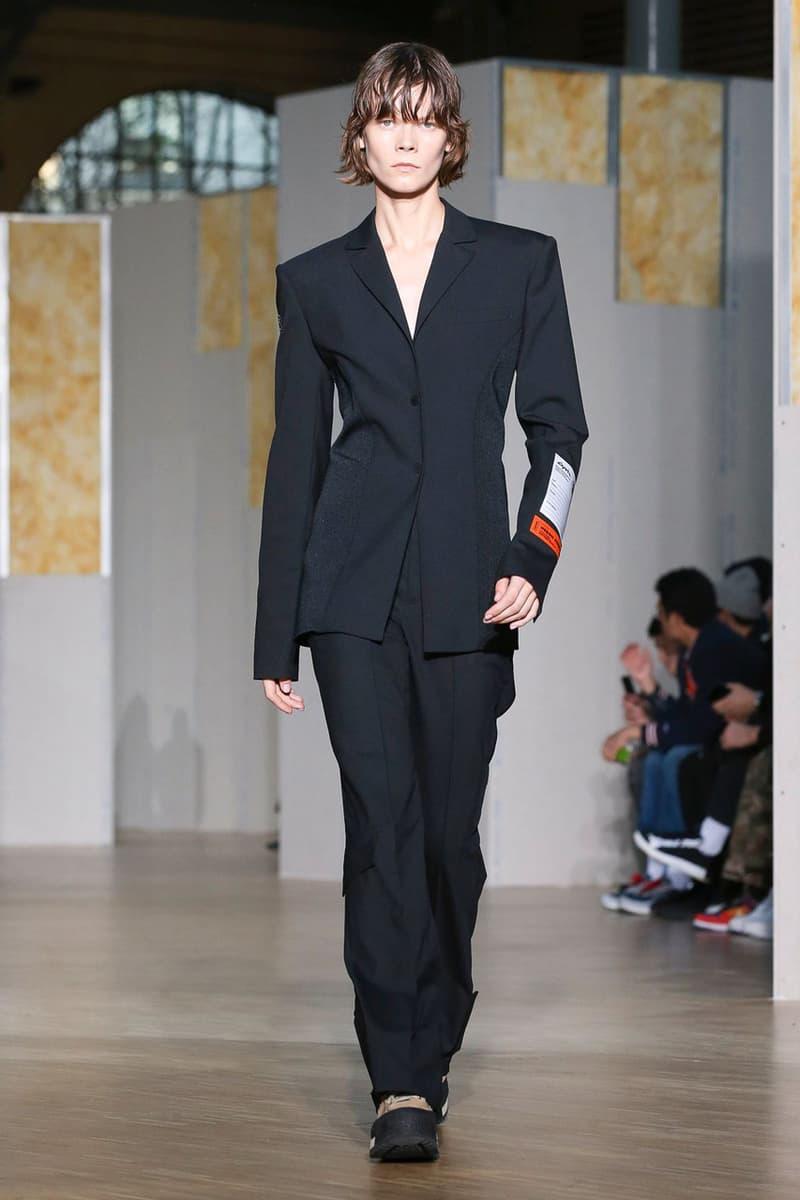 ヘロンプレストン 2020年秋冬コレクション Heron Preston Fall/Winter 2020 Collection runway show paris fashion week menswear womenswear pfw fw20 caterpillar collaboration cat