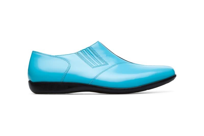 KIKO KOSTADINOV ×Camper の新作コラボフットウェア2型が登場 kiko kostadinov campelab mauro boot shoe patent leather blue black yellow tan release date info photos price