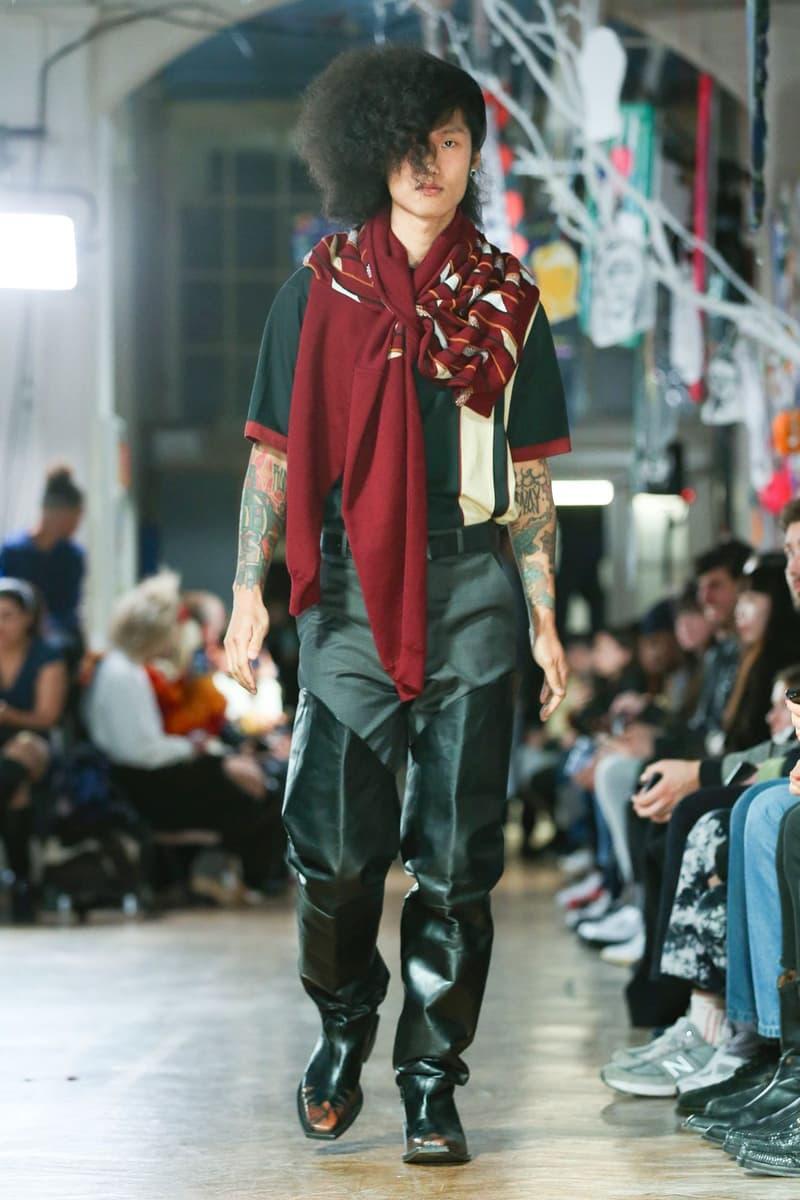 マーティン・ローズ 2020年秋冬コレクション martine rose london fall winter 2020 lfwm london fashion week mens fw20 collection farah collaboration six