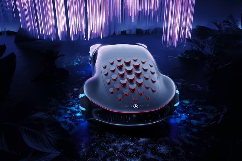 映画アバターから着想を得たベンツの最新コンセプトカーが公開 Mercedes-Benz x Avatar Vision AVTR First Look James Cameron Movie