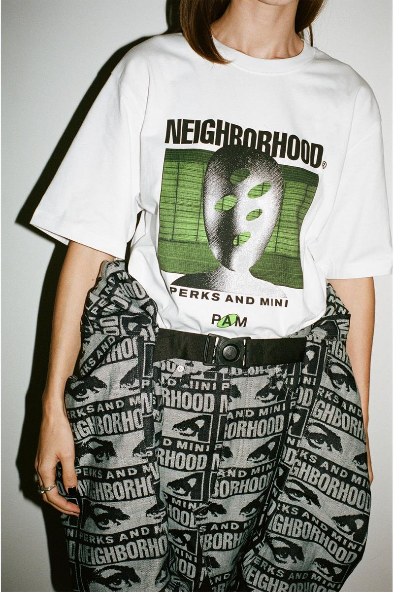 ネイバーフッド NEIGHBORHOOD × P.A.M. によるコラボカプセルコレクションがリリース NEIGHBORHOOD Perks and Mini pam world 2020 Capsule Video Lookbook brain close brainclosed graphics collection collaborations japanese graphics interssect visuals sounds