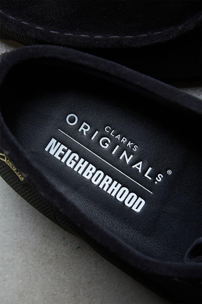 ネイバーフッド クラークス オリジナルス NEIGHBORHOOD × Clarks Originals によるコラボシューズがリリース