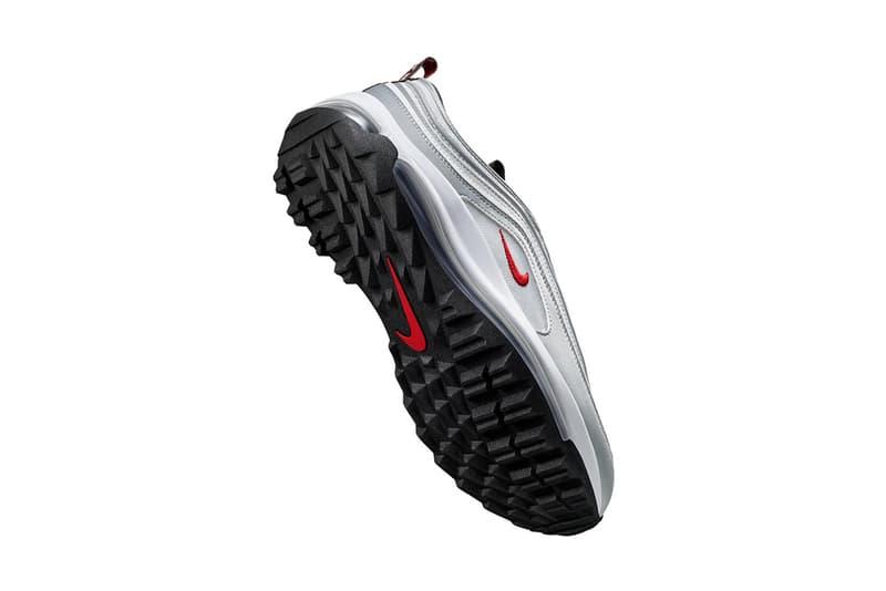 ナイキ エアマックス 97 G Nike がゴルフ対応の Air Max 97 G をリリース nike air max 97 g golf silver bullet release date info photos price