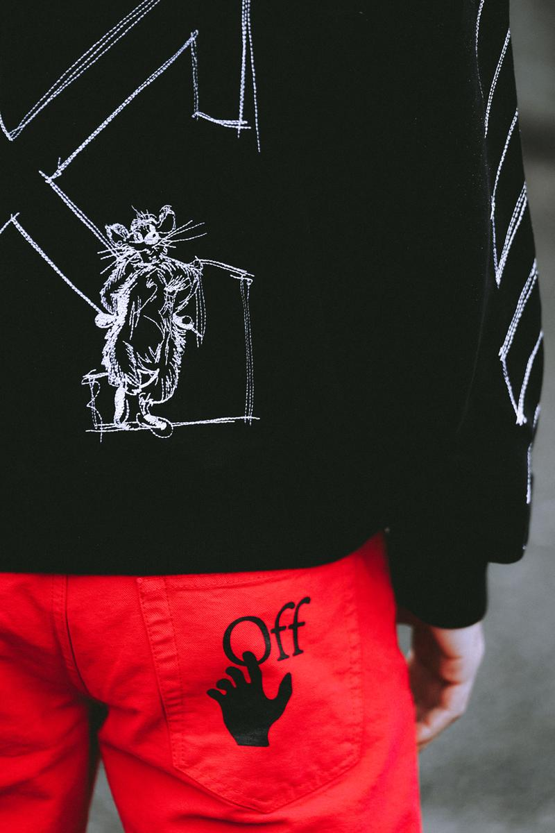 offwhite オフホワイト off white ヴァージル アブロー chinese lunar 中国 旧正月 new year カプセル コレクション capsule collection release year of the rat 子年 menswear womenswear