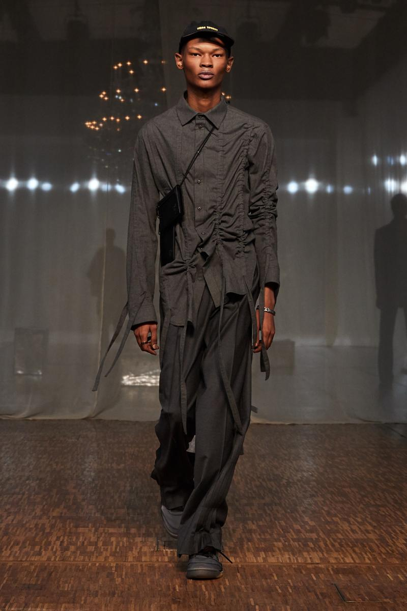 オフホワイト Off-White™️ が2020年秋冬メンズコレクションを発表 Off-White™ Fall/Winter 2020 Menswear Runway Collection show presentation paris fashion week fw20 virgil abloh jordan 5 collaboration pfw tornado warning
