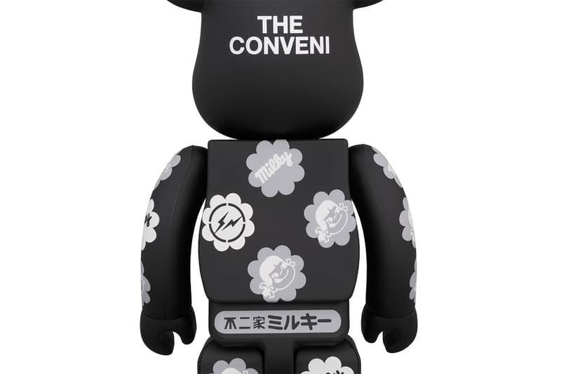 ザ・コンビニがペコちゃん&ミルキー柄のBE@RBRICKを発売 THE CONVENI がメディコム・トイと不二家とタッグを組んだトリプルコラボプロダクトを発売