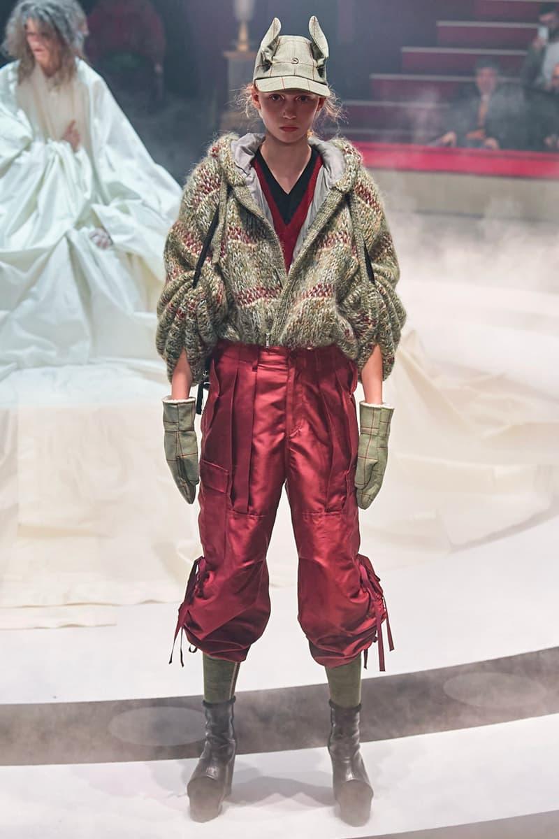 アンダーカバー 2020年秋冬コレクション UNDERCOVER Fallen Man Fall Winter 2020 Runway Collection Paris Fashion Week throne of Blood Akira Kurosawa Jun Takahashi Info Release Date Look Image Full