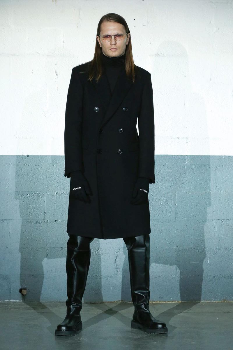 ヴェトモン 2020年秋冬コレクション Vetements Fall/Winter 2020 Runway Collection paris fashion week pfw fw20