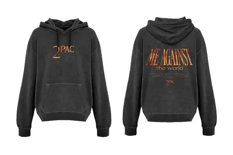 2パック 2Pac の『Me Against the World』リリース25周年を記念したマーチャンダイズが登場2Pac Me Against The World 25th Anniversary Merch Release tupac shakur all eyez on me california love