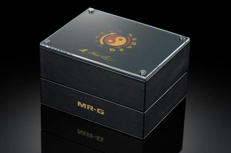 Gショックからブルース・リーの生誕80周年を祝した限定モデルが登場 MRGG2000BL9A mr g mrg casio g shock gshock bruce lee watch yellow black red dragon Jeet Kune Do game of death tracksuit