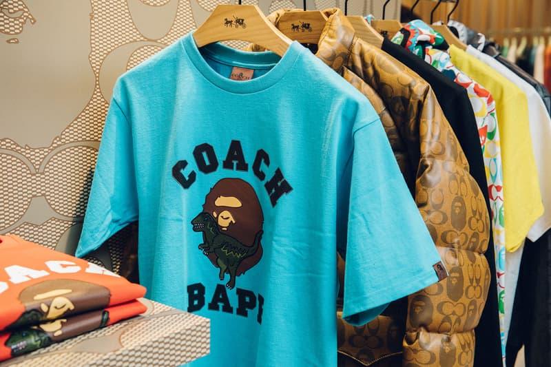 COACH x BAPE® コラボコレクション ポップアップストア潜入 伊勢丹 ポップアップ JP THE WAVY  レザーアウター エイプ ベイプ コーチ こーち