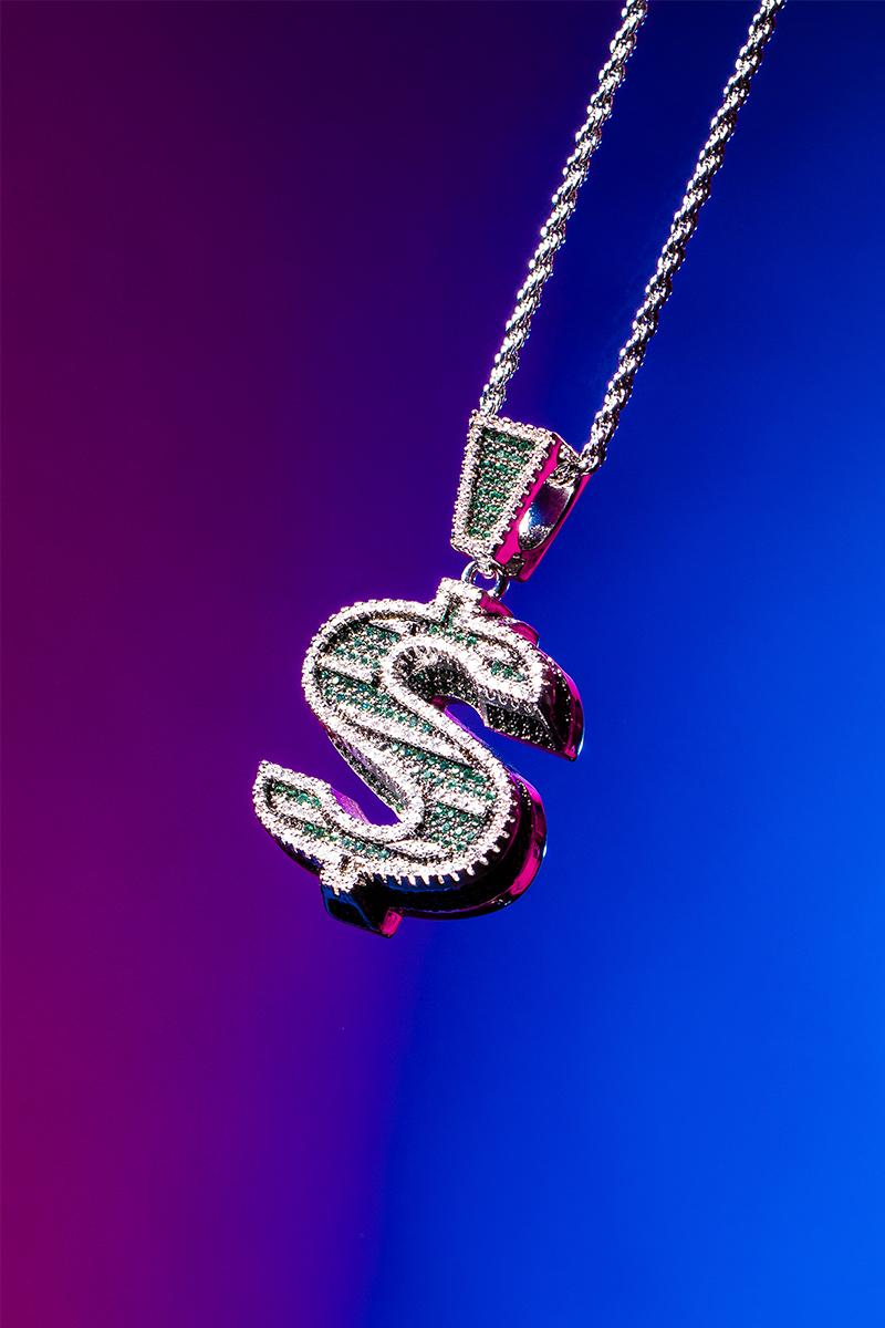 ビリオネア・ボーイズ・クラブ アイスクリーム ゴースト Billionaire Boys Club / ICECREAM × GHOST による某氏の'00年代のスタイルからインスパイアされたネックレスが登場 Billionaire Boys Club ICECREAM GHOST Dog Cone Dollar Necklace Release Info Buy Price Jacob & Co. the jeweller Arabo
