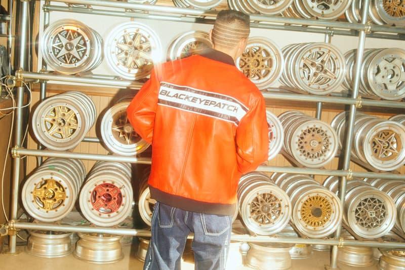 ブラックアイパッチ BlackEyePatchの2020年春夏コレクションに、色彩豊かなストリートウェアの定番アイテムが登場 BlackEyePatch Spring Summer 2020 Collection lookbook japanese rapper BADSAIKUSH underground streetwear tokyo imprint jackets coats track suit pants t shirts graphic logos