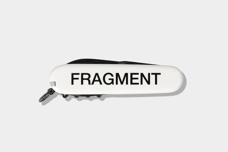 藤原ヒロシ フラグメント x ビクトリノックスによるアーミーナイフが発売 fragment design x Victorinox によるダブルネームのアーミーナイフが発売